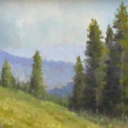 "High Country Afternoon ● 6"" x 8"" ● Oil ● SOLD"