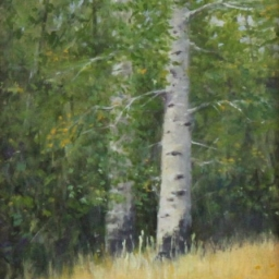 """Moment of Solitude ● 9"""" x 12"""" ● Oil ● SOLD"""