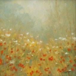 "Misty Bouquet ● 6"" x 6"" ● Oil ● SOLD"