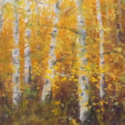 "October Afternoon ● 6"" x 8"" ● Oil ● SOLD"