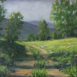 """The Road Home ● 8"""" x 10"""" ● Oil ● SOLD"""