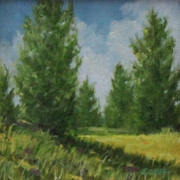 "Quiet Summer Day ● 6"" x 6"" ● Oil ● SOLD"