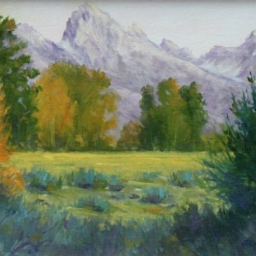 """A Grand View ● 9"""" x 12"""" ● Oil ● SOLD"""