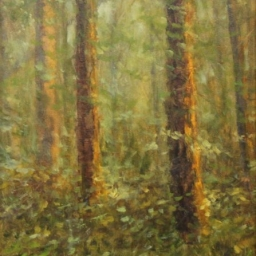 """Sacred Moment ● 6"""" x 8"""" ● Oil ● SOLD"""