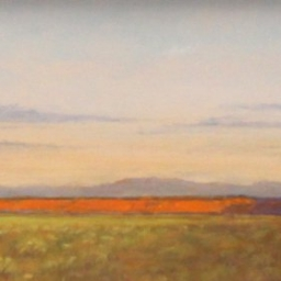 """Dawn - West of St. George ● 6"""" x 12"""" ● Oil ● SOLD"""