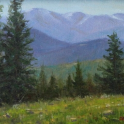 "Meadow View ● 9"" x 12"" ● Oil ● SOLD"