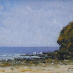 "Seaside View ● 5"" x 7"" ● Oil ● $195"