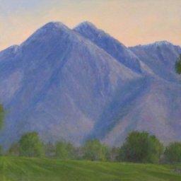 "Mt. Olympus View ● 9"" x 12"" ● Oil ● $500"