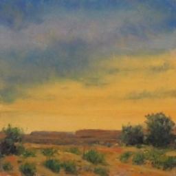 """Luminous Evening ● 6"""" x 6"""" ● Oil ● SOLD"""