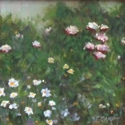 """Secluded Bouquet ● 6"""" x 6"""" ● Oil ● SOLD"""