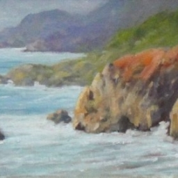 "Carmel Coast ● 6"" x 12"" ● Oil ● SOLD"