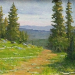 "Mountain Morning ● 8"" x 10"" ● Oil ● SOLD"