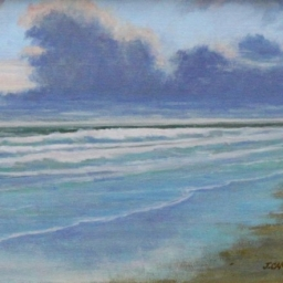 "Morning Tide ● 9"" x 12"" ● Oil ● $495"