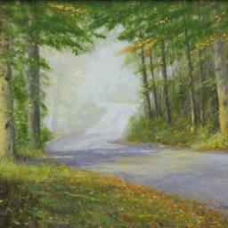 "Enchanted Morning ● 16"" x 20"" ● Oil ● SOLD"