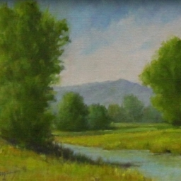 """Quiet Morning ● 8"""" x 10"""" ● Oil ● SOLD"""