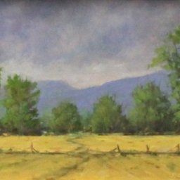 """Country Evening ● 6"""" x 8"""" ● Oil ● SOLD"""