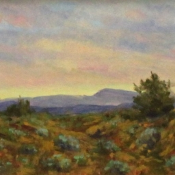 "Southwest Evening ● 6"" x 8"" ● Oil ● SOLD"