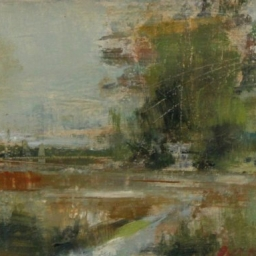"""Another Country Road ● 6"""" x 9"""" ● Oil ● SOLD"""