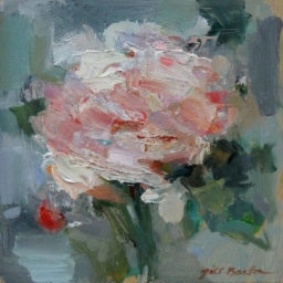 "A Rose for Rose II ● 8"" x 8"" ● Oil ● SOLD"