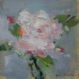 """A Rose for Rose I ● 8"""" x 8"""" ● Oil ● SOLD"""