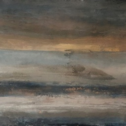"Fading Light ● 40"" x 44"" ● Oil ● SOLD"