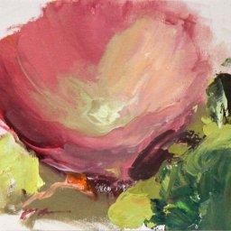 "Hyacinth Series 2021 #10  ● 6"" x 6"" ● Oil ● $195"