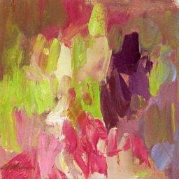 "Hyacinth Series 2021 #7  ● 6"" x 6"" ● Oil ● $195"