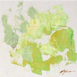 "Hyacinth Series 2021 #9  ● 6"" x 6"" ● Oil ● $195"