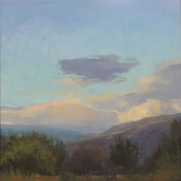 "Bountiful Summer Evening ● 36"" x 36"" ● Oil ● $3800"