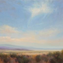 """Utah Desert Solitude ● 24"""" x 30"""" ● Oil ● $3200"""