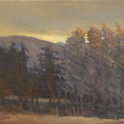 "Winter Twilight ● 16"" x 20"" ● Oil ● $1600"