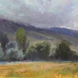 "Spring Storm, Holladay Utah ● 11"" x 14"" ● Oil ● SOLD"