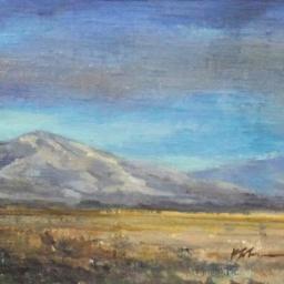 """Central Utah Plein Air Sketch ● 8"""" x 10"""" ● Oil ● SOLD"""