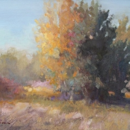 "Fall Landscape ● 16"" x 20"" ● Oil ● SOLD"