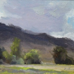 "Storm Shadows, Holladay Utah ● 9"" x 12"" ● Oil ● $600"