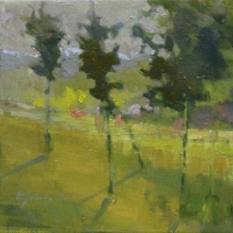"Summer Trees II ● 8"" x 8"" ● Oil ● $375"