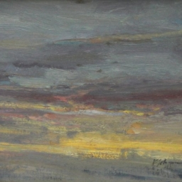 "Great Salt Lake Early Morning ● 12"" x 16"" ● Oil ● SOLD"