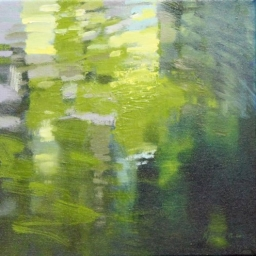 "Reflections II ● 12"" x 12"" ● Oil ● SOLD"