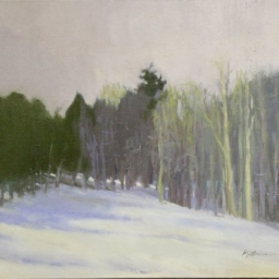 "Snowy Afternoon ● 20"" x 24"" ● Oil ● SOLD"
