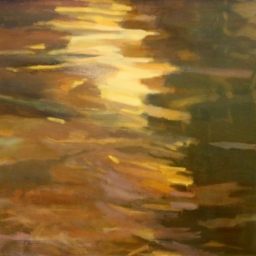 "The River is Wide ● 30"" x 30"" ● Oil ● SOLD"