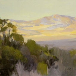 "Western Morning Light ● 16"" x 20"" ● Oil ● SOLD"
