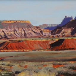"""Almost to Zion ● 18"""" x 24"""" ● Oil ● SOLD"""