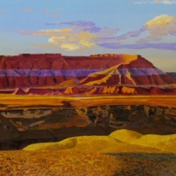 "The Goosebery Mesa ● 24"" x 36"" ● Oil ● SOLD"