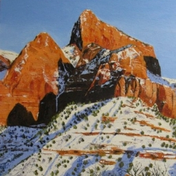 """Kolob Afternoon ● 18"""" x 24"""" ● Oil ● SOLD"""