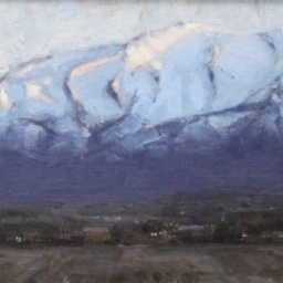 "Mount Timpanogos ● 8"" x 10"" ● Oil ● $600"