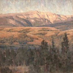 "Jackson Valley Light ● 12"" x 12"" ● Oil ● $975"