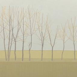 "Bare Trees ● 36"" x 48"" ● Acrylic & Oil ● $2400"