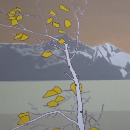 "Tree Top ● 20"" x 24"" ● Acrylic & Oil ● SOLD"