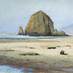 "Cannon Beach ● 24"" x 30"" ● Oil ● SOLD"