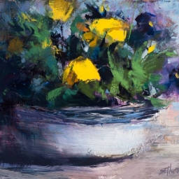 """Signs of Spring #1 ● 8"""" x 10"""" ● Oil ● SOLD"""